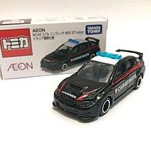 [預購] Tomica AEON百貨限定 Subaru STI Police