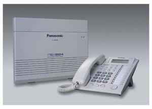 國際牌TES-824系列 3外線8內線+ 4部KX-7730螢幕話機含來電顯示,現場估價請看關於我。