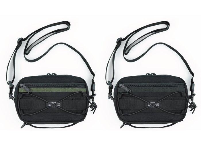 { POISON } MATCHWOOD MATRIX BAG  機能性斜背萬用隨身小包 側背肩背胸前手拿包