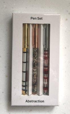 MoMA Abstraction Pen Set 3支原子筆 另售 CROSS PILOT