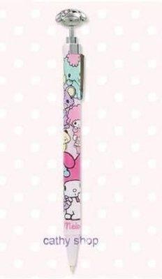 *凱西小舖*日本進口三麗歐日製正版MELODY美樂蒂&動物好朋友系列原子筆