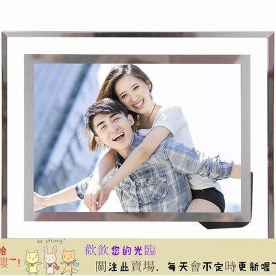 TW-1120205 水晶玻璃相框擺台7寸5寸6寸8寸10寸現代簡約日韓創意【首爾·站】