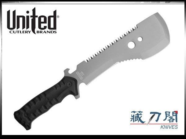 《藏刀閣》UNITED-(UC3119)方弧頭格鬥直刀