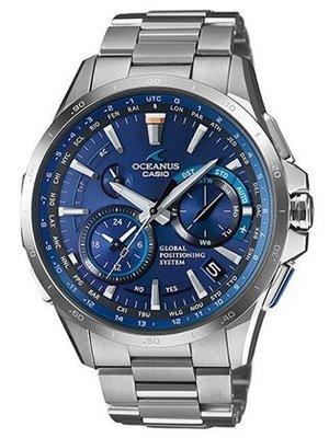 【BB日本代購】 Casio Oceanus 海神錶 太陽能GPS電波錶 預購