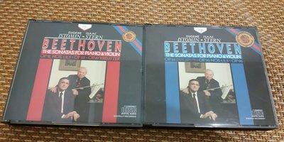 好音悅 Stern Istomin Beethoven 貝多芬 小提琴奏鳴曲全集 4CD CBS USA美版 無IFPI