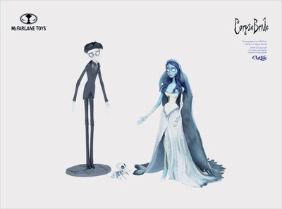 Artlife @ McFarlane Tim Burton's Corpse Bride 麥法蘭 提姆波頓 地獄新娘