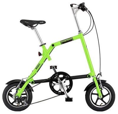 小哲居 最新款式 義大利精品單車 JAB NANOO 12吋7速烤漆板 7色 黃色 綠色 可推行