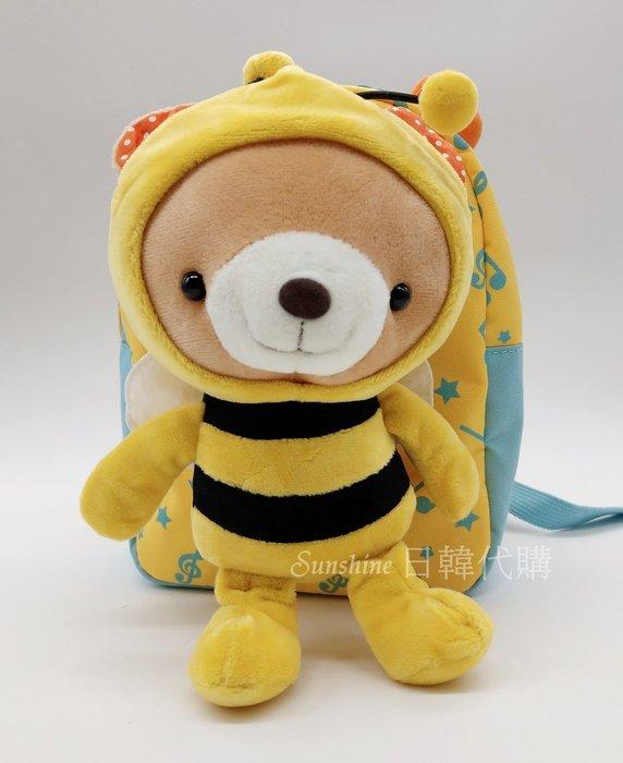 現貨 韓國正品 WingHouse 蜜蜂 音符 熊熊 防走失包 兒童背包 Wing House