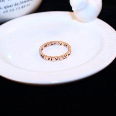 玫瑰金純銀戒指 鑲鑽戒指-經典高貴情人節聖誕節禮物女飾品73by63[獨家進口][巴黎精品]