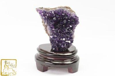 紫水晶花-辟邪護身 招貴人 重:490g(含底座)【吉祥水晶專賣店】編號AB16