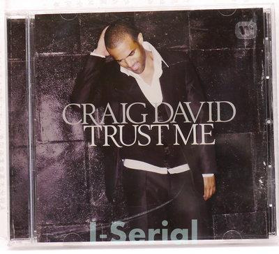 正版CD/ 克雷格大衛 我說了算/ CRAIG DAVID TRUST ME