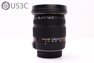 【US3C台中店】公司貨 Sigma 17-50mm F2.8 EX DC OS HSM For Canon 二手鏡頭