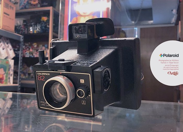 ArtLife @ Polaroid 82 Colorpack LAND CAMERA Vintage 拍立得 老相機