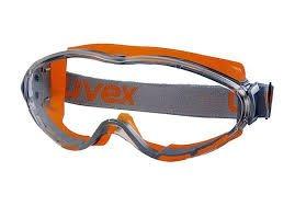 [ BaBa ] 德國 uvex - 9302 護目鏡 抗化學 防霧 防塵護目鏡組 防霧 抗刮 耐化學