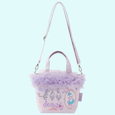 尼德斯Nydus 日本 東京迪士尼海洋限定 達菲熊 Duffy 史黛拉兔 Stella Lou 手拿包 包包 側背包