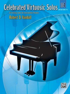 【599免運費】Celebrated Virtuosic Solos, Book 4  Alfred 00-27813