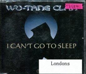 *還有唱片行* WU TANG CLAN / I CAN'T GO OT SLEEP 二手 Y6652