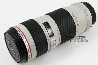 原廠 Canon EF 70-200mm f4 L USM 小小白 超音波 望遠 人像鏡頭