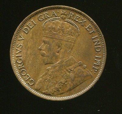 CANADA  ,  加拿大硬幣  ,  1-CENT  ,  K21  ,  1913  ,  品相9新AU