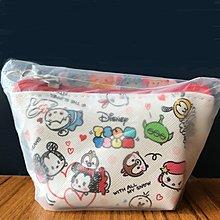 日本100%正貨 Disney tsum tsum 拉鍊袋 - 迪士尼 化妝袋 收納袋 米奇 小熊維尼 抓樂霸 夾公仔 夾娃娃 gotcha 減壓