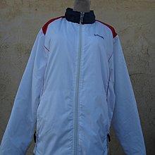 jacob00765100 ~ 正品 SPALDING 白色 鋪棉外套 size: LL