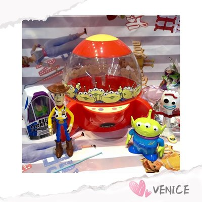 Venice 維娜絲日本代購東京迪士尼樂園限定~玩具總動員 三眼怪火箭糖果罐
