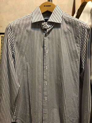 Lardini Wide Spread Collar shirt
