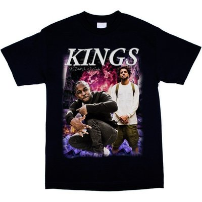 Cover Taiwan 官方直營 Kendrick Lamar J.Cole 樂團Tee 短袖 嘻哈 黑色 (預購)
