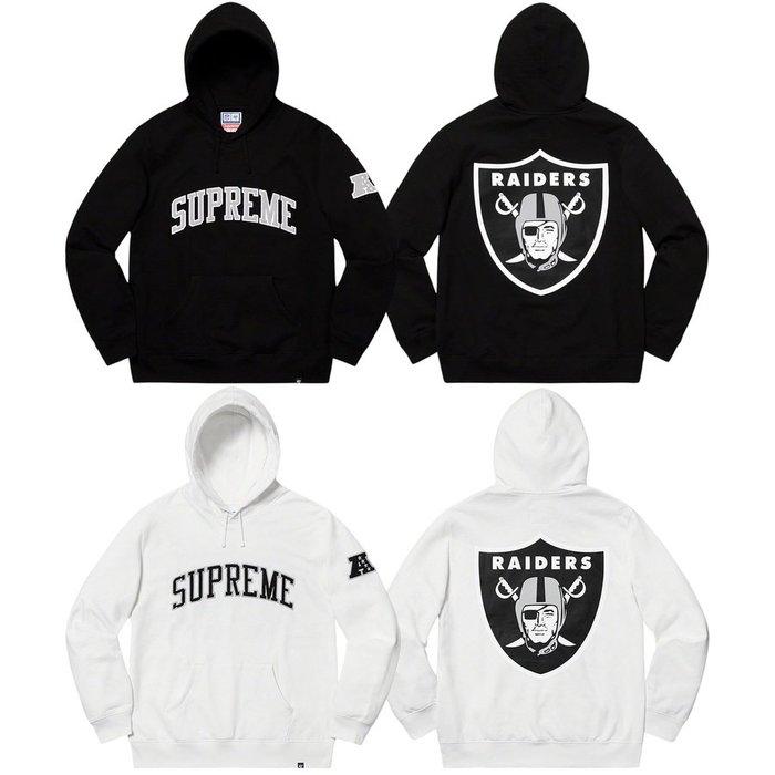 【美國鞋校】預購 SUPREME SS19 NFL x Raiders x 47 Hooded Sweatshirt