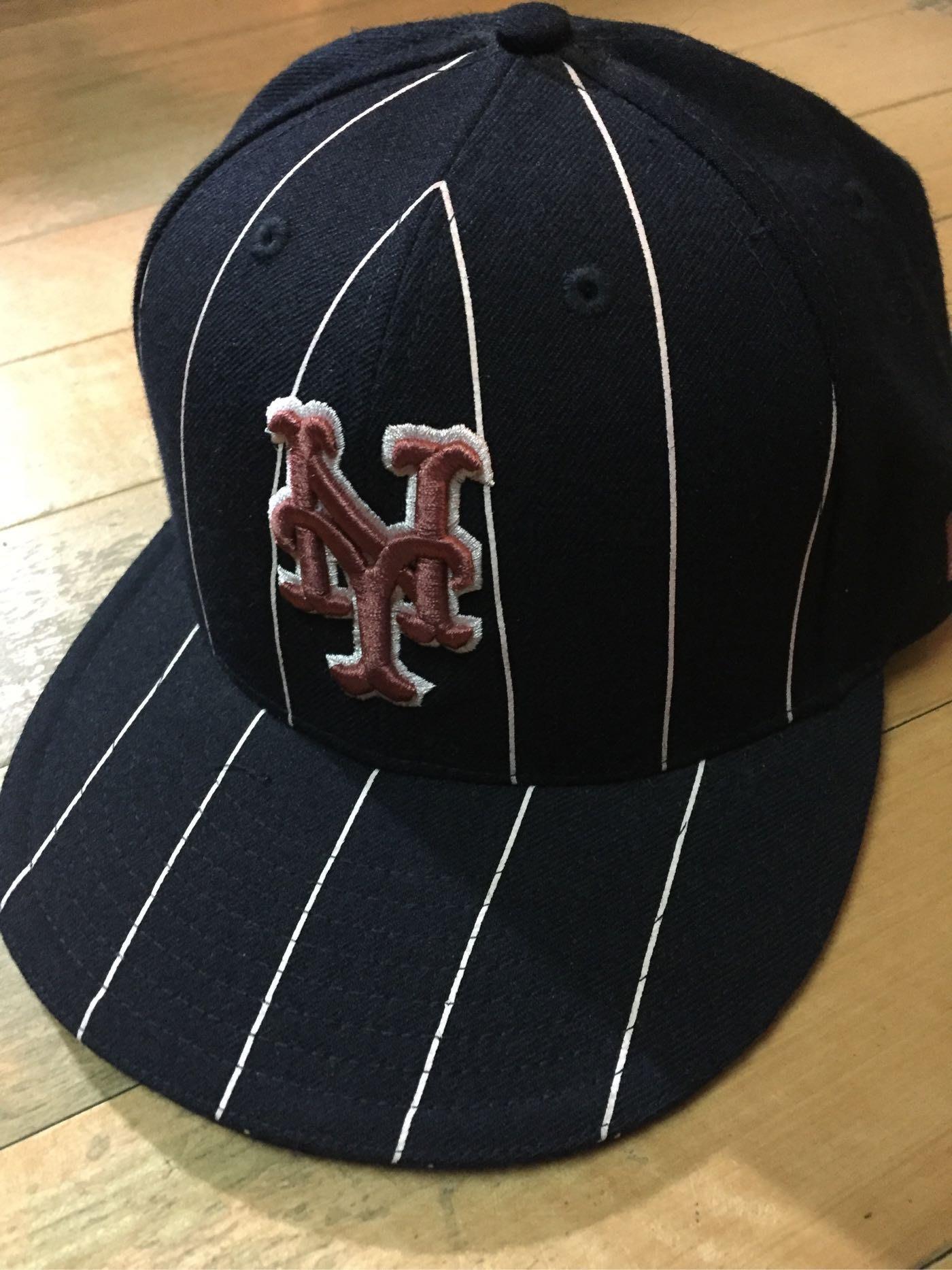 保證真品超低價!STUSSY x NEW ERA翻玩紐約大都會Mets NY logo全封棒球帽Baseball Cap