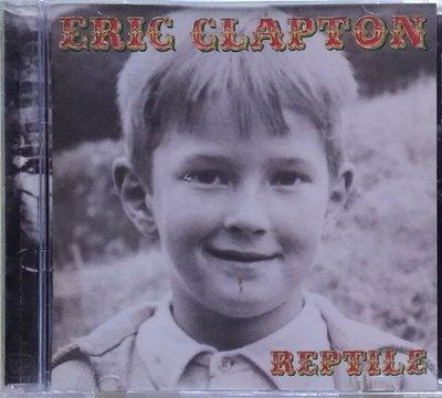《絕版專賣》Eric Clapton 艾力克萊普頓 / Reptile 吉他之神啟示錄
