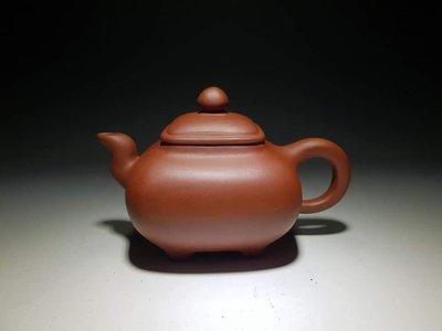 雅品壺~早期收藏紫砂壺出清~早期四足傳爐#俞國良#A126