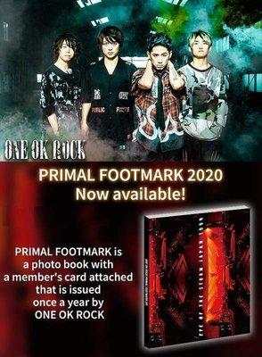 特優代購 ONE OK ROCK PRIMAL FOOTMARK 2020 年度攝影專刊+年度會員卡 (通常版) 專刊