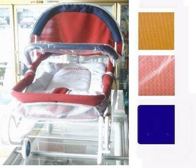 麗嬰兒童玩具館~加寬多功能雙管彈力搖床(透氣布).市場超低特價~東森購物同款