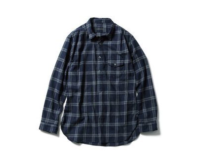 SOPHNET THERMOLITE FLANNEL CHECK PULL OVER 10/3發