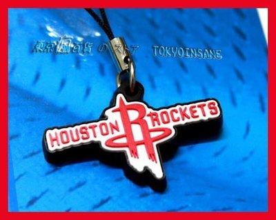 NBA Rockets 休士頓 火箭隊 隊徽 手機 包包 精緻 吊飾 週邊 ~ JAMES Harden 大鬍子 哈登