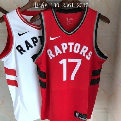 NBA球衣暴龍隊#2號球衣 #17號球衣  LEONARD 17號 林書豪  LIN   倫納德  紅色款式