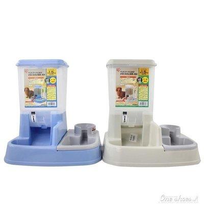 ZIHOPE 愛麗思寵物自動喂食器狗狗貓咪自動投食器飲水器一體寵物用品ZI812