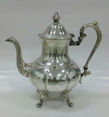 435高檔英國鍍銀壺組 Vintage Silverplate Ornate teapot (皇家貴族精品)