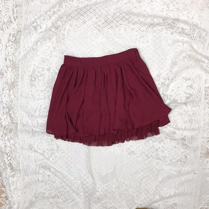 《INGNI》好搭酒紅色短裙 秋冬美衣上架 詳閱敍述 實拍