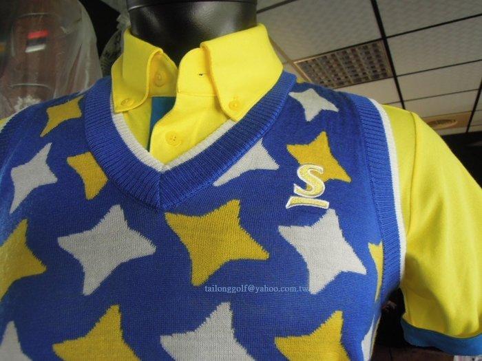 日本專業品牌 SRIXON 高爾夫針織背心 休閒風格 NO.1的時尚品味