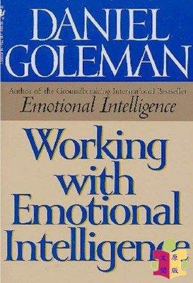 [文閲原版]【英文原版】Working with Emotional Intelligence 丹尼爾·戈爾曼 Daniel Goleman 工作職場 溝通