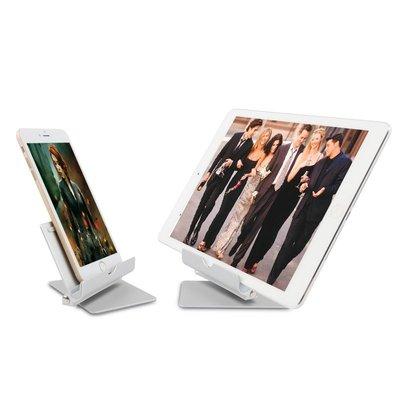 iPad支架 多功能360度旋轉平板手機金屬支架iPad支架桌面底座通用鋁合金