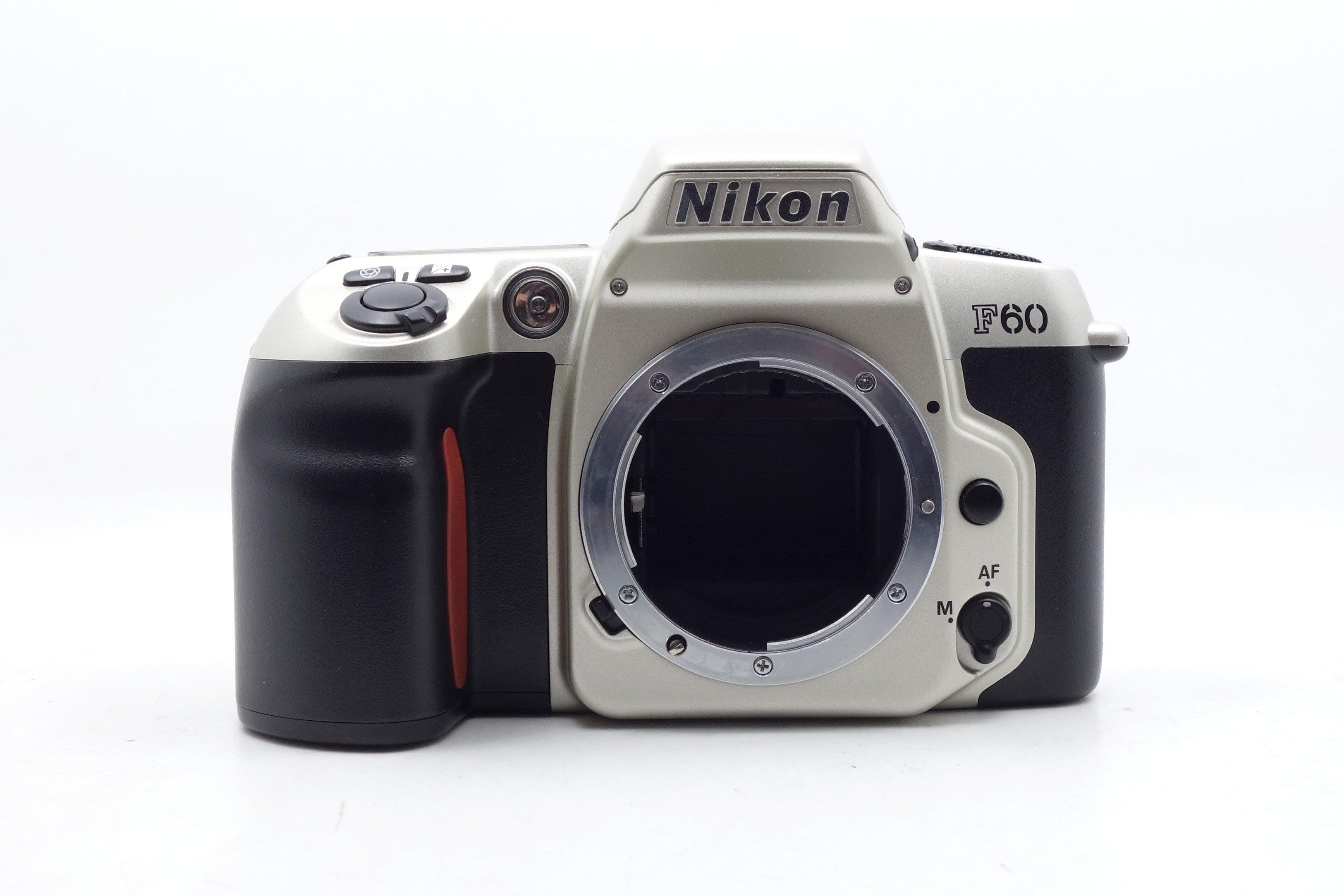 【台中青蘋果競標】Nikon F60 單機身 底片相機 瑕疵機出售 反光鏡頭卡住 #41243