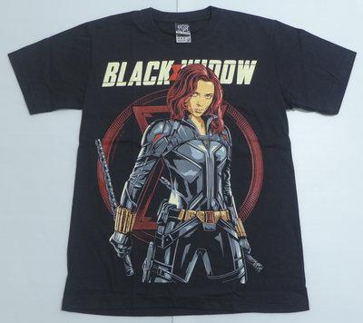 【Mr.17】超級英雄 Black Widow 黑寡婦 復仇者 美式漫畫風進口短袖T恤 T-SHIRT(N262)