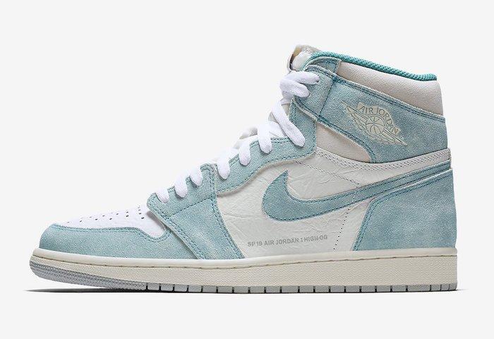 Nike Jordan 1 Retro High Turbo Green 555088-311湖水綠OG蒂芙尼AJ1喬丹
