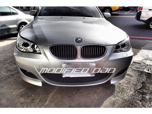 DJD19101602 BMW 寶馬 E60 M5 PP材質 前大包 前保桿 含霧燈