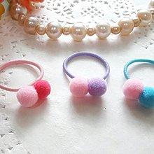【UIshop】迷你彩球拇指髮圈/彩色兒童小髮圈/兒童髮圈/兒童髮束/兒童髮飾/迷你髮圈