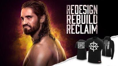 ☆阿Su倉庫☆WWE摔角 Seth Rollins Redesign Rebuild Reclaim T-Shirt