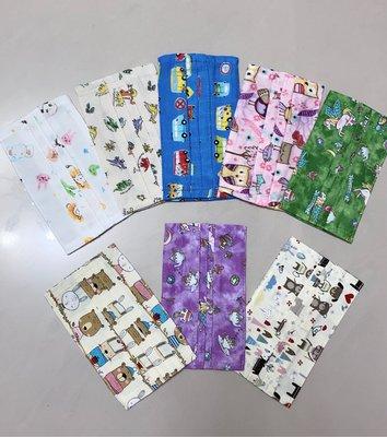 ⭐️現貨不必等⭐️花色日本二重紗 素面100%純棉口罩套  不挑款 可選素色或花色